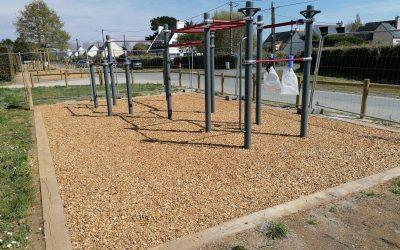 Parcours sportif et Street Workout à L'Ile Tudy